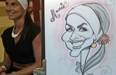 Caricature papier traditionnelle'