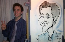 Caricature papier traditionnelle